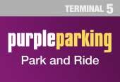 Purple Park &  Ride Terminal 5