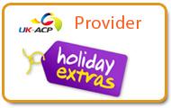 Holiday Extras Provider to UKACP