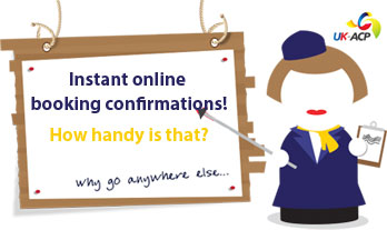 Instant Booking Confirmations