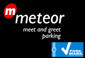 Meteor Meet & Greet Hotel Parking