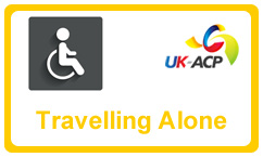 Disabled travel through UK airports - alone or with a companion