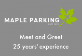 Maple Parking Meet and Greet - exclusive price