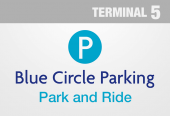 Drivefly Park and Ride - Terminal 5