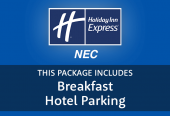 Express by Holiday Inn NEC with hotel parking & breakfast