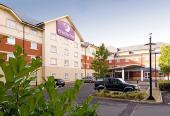 Premier Inn with parking at the hotel
