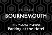Village Bournemouth with parking at the hotel