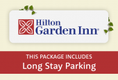 Hilton Garden Inn with parking at Long Stay