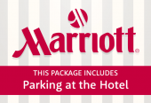Marriott with parking at the hotel