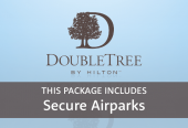 DoubleTree by Hilton Queensferry Crossing with parking at Secure Airparks