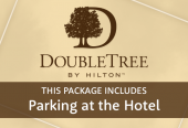 DoubleTree by Hilton with parking at the hotel