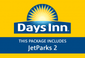 Days Inn with parking at JetParks 2