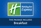Holiday Inn Express with breakfast