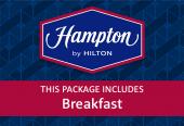 Hampton by Hilton with breakfast