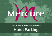 Mercure Parkway with parking at the hotel