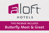 Aloft Excel with Butterfly Meet and Greet parking