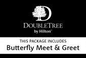 Doubletree by Hilton Excel with Butterfly Meet & Greet