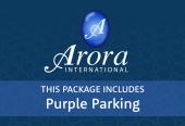 Arora with Purple Parking