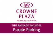 Crowne Plaza Felbridge with Purple Parking