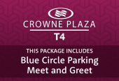 Crowne Plaza T4 with Drivefly Meet & Greet