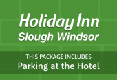 Holiday Inn Slough Windsor with parking at the hotel