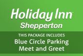 Shepperton Holiday Inn with Drivefly Meet & Greet T2 & 3