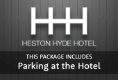 Heston Hyde with parking at the hotel