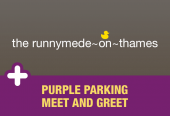 Runnymede-on-Thames with Purple Parking Meet and Greet