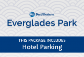 Best Western Everglades Park with parking at the hotel