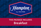 Hampton by Hilton with breakfast