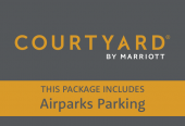 Courtyard by Marriott with parking at Airparks