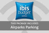 Ibis Budget with parking at Airparks
