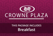 Crowne Plaza and breakfast