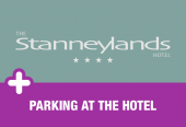 Stanneylands with parking at the hotel