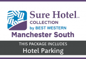 Hallmark Inn Manchester South with parking at the hotel