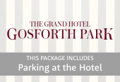 Grand Hotel Gosforth Park with parking at the hotel