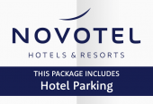 Novotel with parking at the hotel