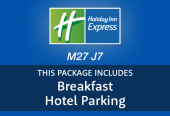 Holiday Inn Express M27 J7 hotel parking and breakfast