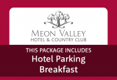 Meon Valley with parking at the hotel and breakfast