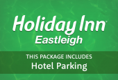 Holiday Inn Eastleigh with hotel parking
