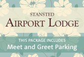 Stansted Airport Lodge with breakfast and Meet and Greet parking