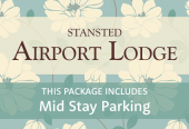 Stansted Airport Lodge with breakfast and parking at Mid Stay