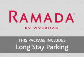 Ramada with parking at Long Stay