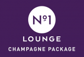 No1 Lounge, Terminal 3, Heathrow, Champagne package