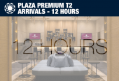 Plaza Premium T2 Arrivals at Heathrow Airport