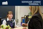 Servisair lounge - Terminal 1