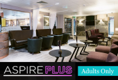 Aspire Plus Lounge at Newcastle Airport