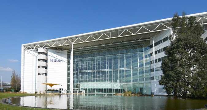 Hilton Hotel at Heathrow's T4