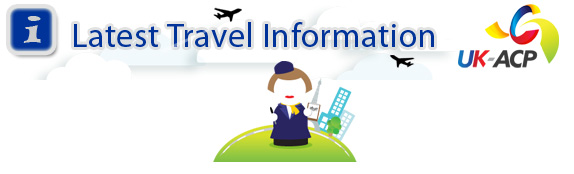 UKACP Latest Travel Information